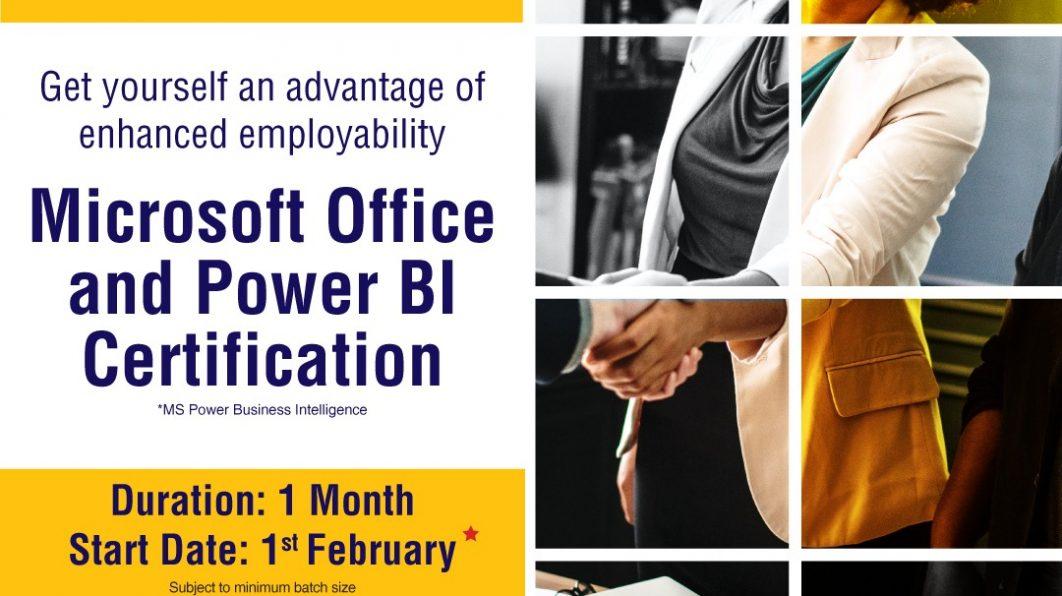 MS Office & Power BI Certification Course