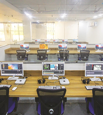 Jagran School of Journalism and Communication Lab