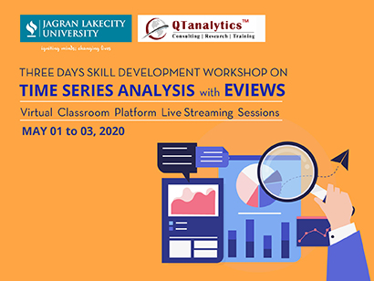 Three Days Skill Development Workshop on Time Series Analysis with Eviews