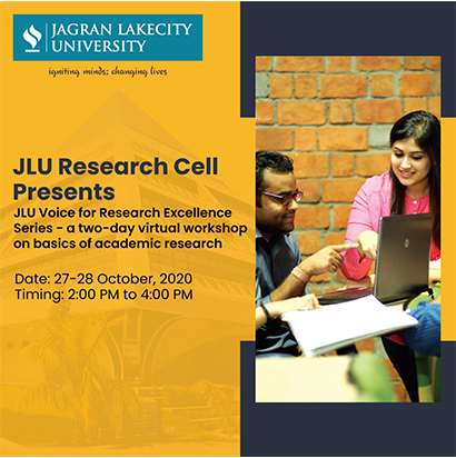JLU Voice for Research Excellence Series