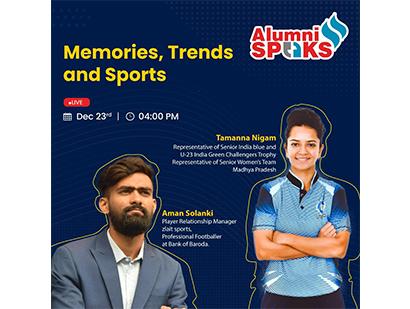 Alumni Speaks – Sports Special