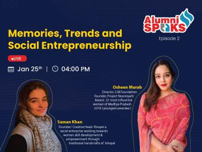 Alumni Speaks – Social Entrepreneurs