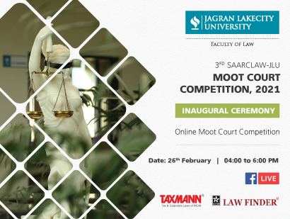 3rd SAARCLAW-JLU Moot Court Competition, 2021