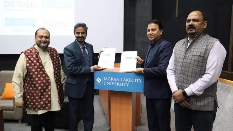 JLU Signs MOU with Design Academy