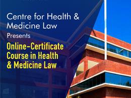 Certificate Course in Health & Medicine Law