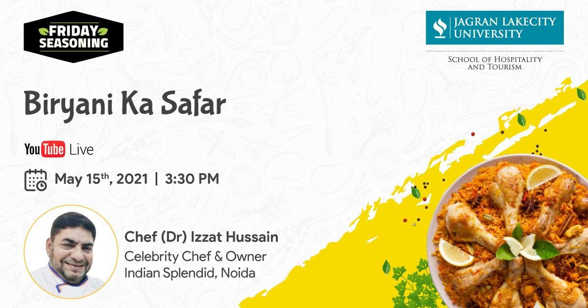 Friday Seasoning by SOHT by Chef (Dr) Izzat Hussain on Biryani Ka Safar